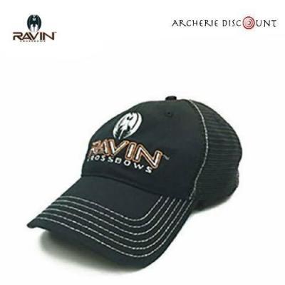 Casquette Ravin noir avec logo