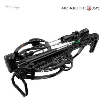 Center point wrath with silent crank package 430fps 4x32 illuminated scope quiver and cocker