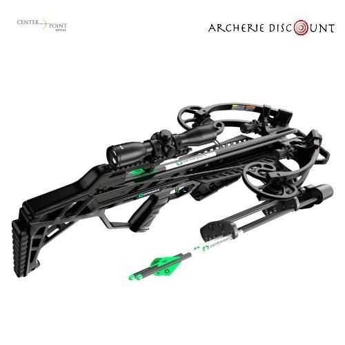 Center point wrath with silent crank package 430fps 4x32 illuminated scope quiver and cocker1