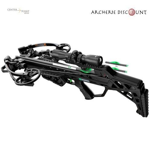 Center point wrath with silent crank package 430fps 4x32 illuminated scope quiver and cocker2