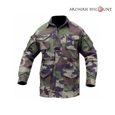 Chemise guerilla ripstop camouflage
