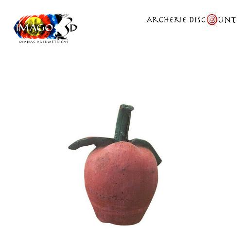 Cible 3 d pomme