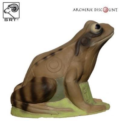 Cible 3 D smart frog Grenouille marron
