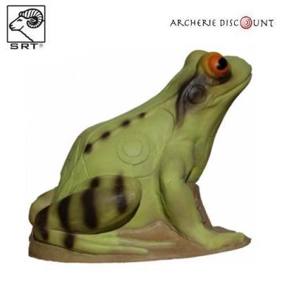 Cible 3 D smart frog Grenouille verte