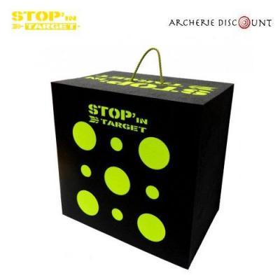 Cible cube en mousse Stop'in target