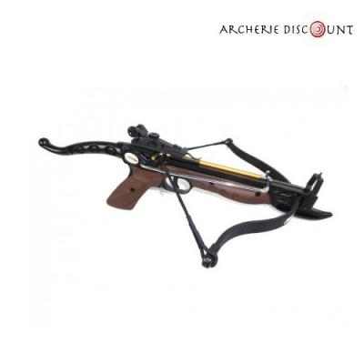 Pistolet arbalète Cobra Ek Archery 80 lbs en finition bois