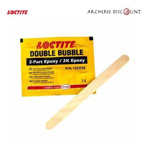 Colle epoxy double bubble