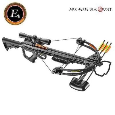 Arbalète Torpédo 355 fps  noire  185 lbs - Ek Archery