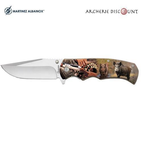 Couteau pliant albainox sanglier