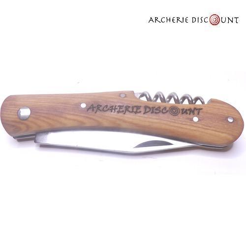 Couteau pliant avec tire bouchon