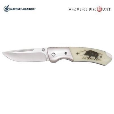 Couteau d'après chasse pliant