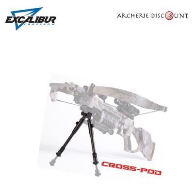 Bi-pod   ajustable pour arbalète  réglable Excalibur