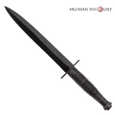 Reproduction de Dague des SAS commando Anglais poignée Noir
