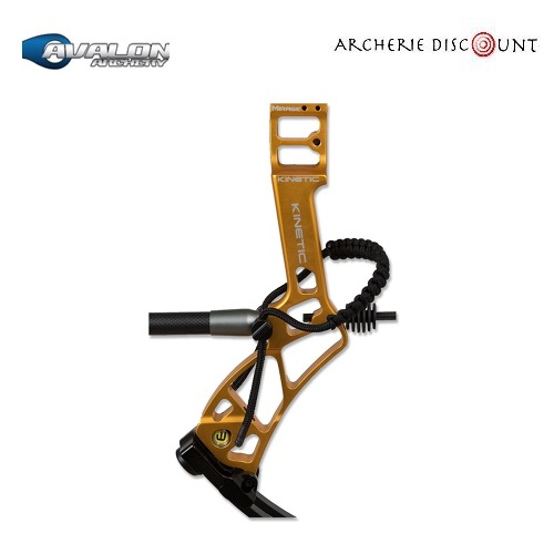 Dragonne d arc avalon noir sur archerie discount3
