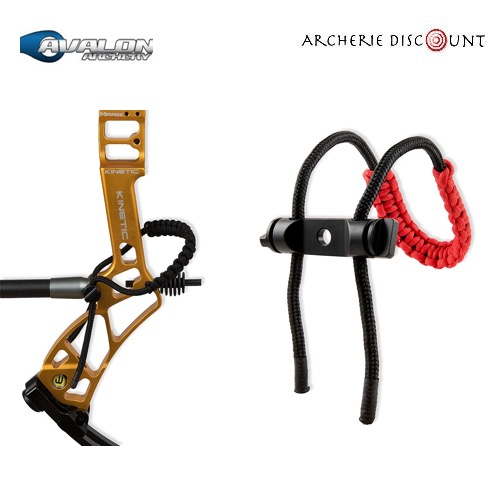 Dragonne d arc avalon rouge sur archerie discount1