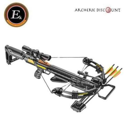 Arbalète Ek Archery Accelerator 390 noir /185 lbs