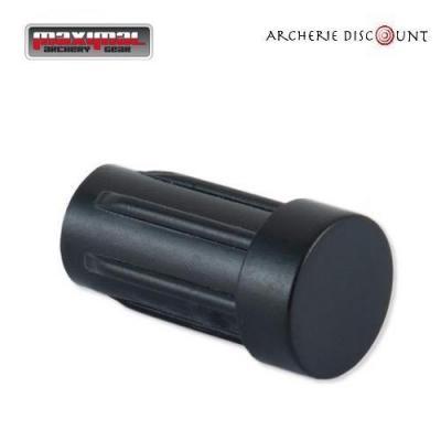 Encoche tête plate pour trait arbalète de 7,62 diametre couleur noir