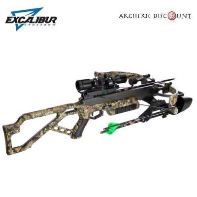 EXCALIBUR MICRO MAG 340 CROSSBOW SET WITH DEADZONE SCOPE ESCAPE CAMO