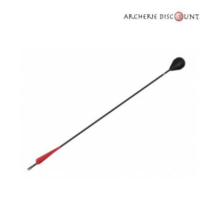 Flèche Archery Tag avec embout en mousse.