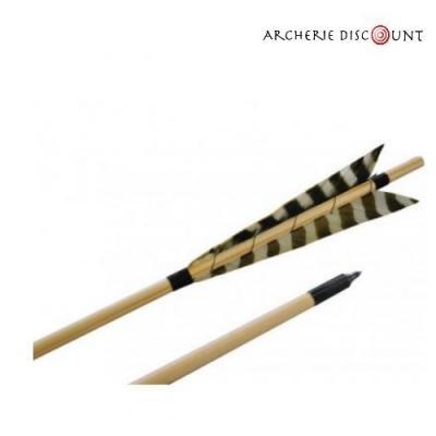 Flèches bois Longbow 11/32 35/50