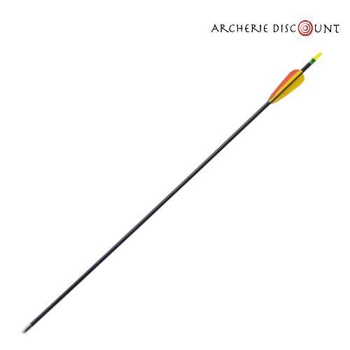 Fleche en fibre de verre pour arc junior pas cher moins 5