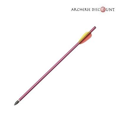 Trait aluminium 43 cm pour arbalète