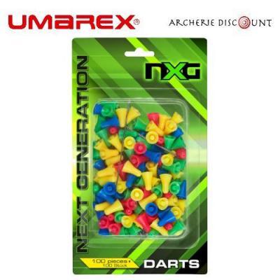 Flechette X 100 pour sarbacane Umarex