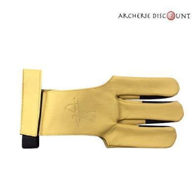 Gant en cuir avec renfort doigt en cuir taille L