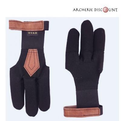 Gants pour archer Premium Deluxe noir