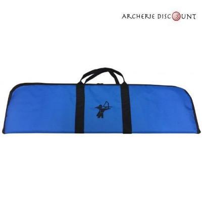Housse de transport Bleu pour arc recurve 85 cm