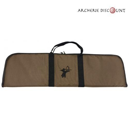 Housse de transport marron pour arc recurve de 85 cm