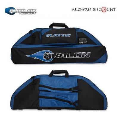 Housse pour arc à poulie Avalon classic  couleur bleu/noir