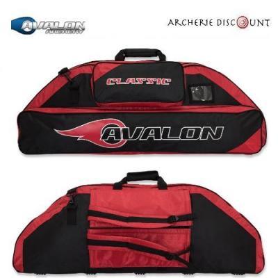 Housse pour arc à poulie Avalon classic  couleur red/noir
