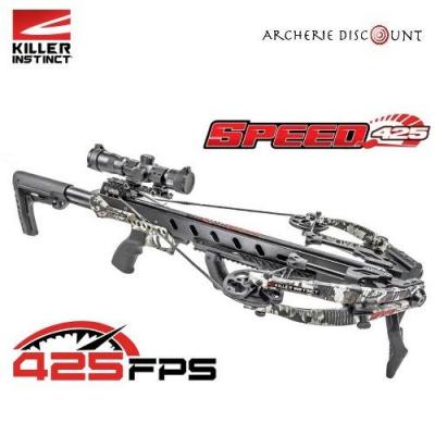 Killer instinct speed 425fps elite package compound crossbow chaos camo