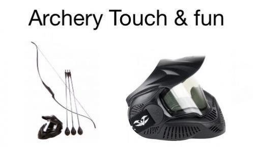 Logo archery touch fun