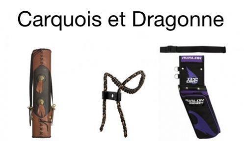 Logo carquois et dragonne