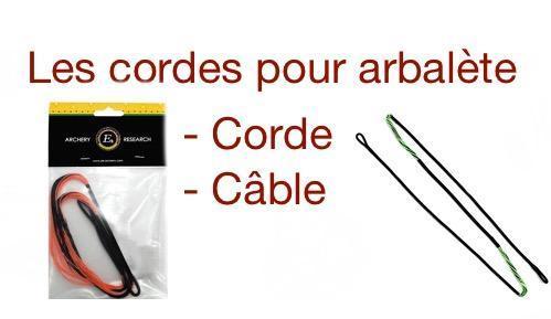 Logo corde cable arbalete