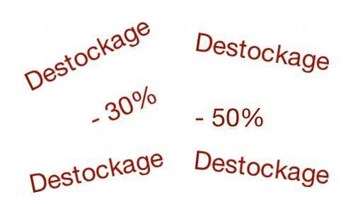Logo destockage
