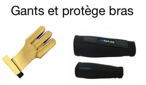 Logo gants et protege bras