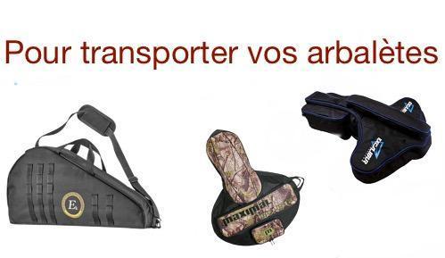Logo housse de transport arbalete