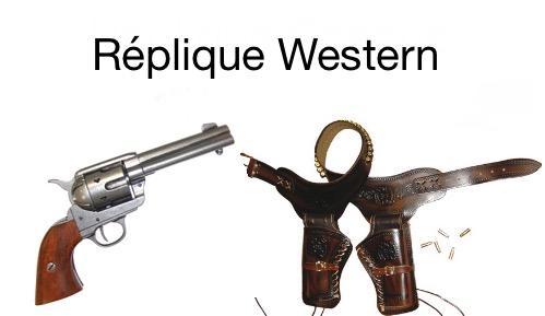 Logo replique western