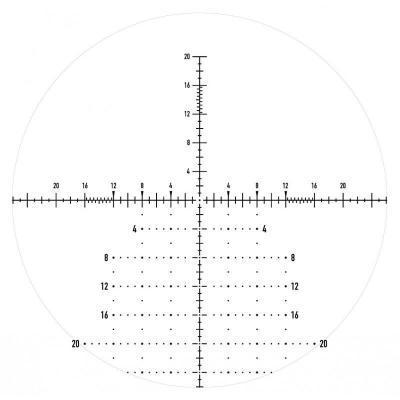 Lunette de visee helix 6 2450 ffp mrad element optics 1