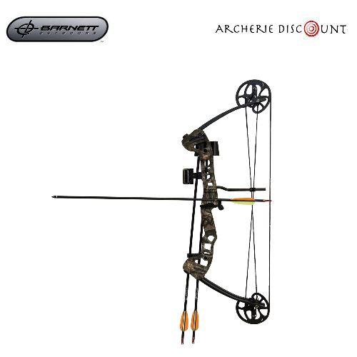 Pack complet arc a poulie de jeune barnett archerie discount