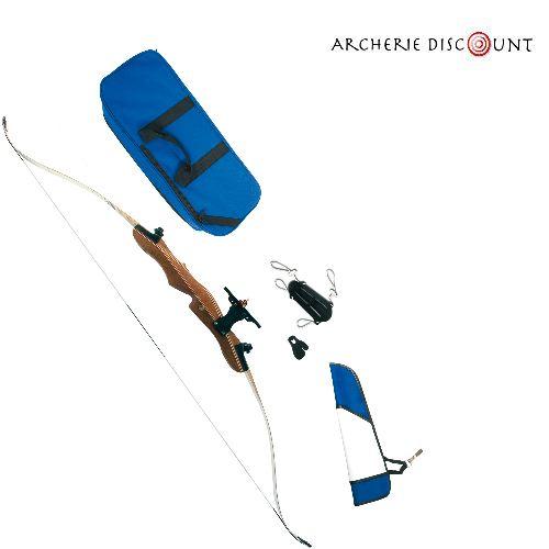 Pack complet arc classique bois des adulte archerie discount