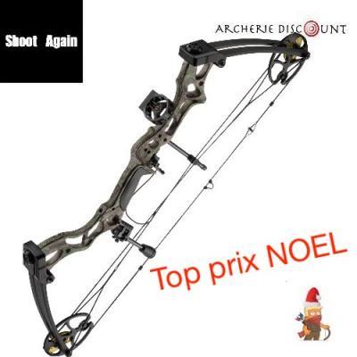 Top Prix Noel !! PACK Arc compound Shoot Again MK 75 Camo