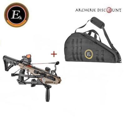 Arbalète COBRA système RX Deluxe 130 lbs + housse - Ek Archery