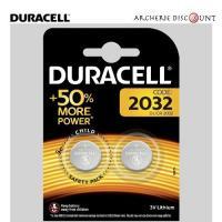 Packs de 2 piles duracelle cr2032