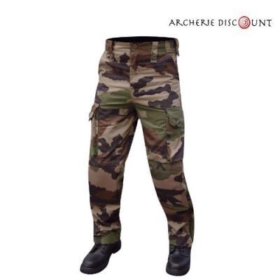 Pantalon treillis camouflage opex