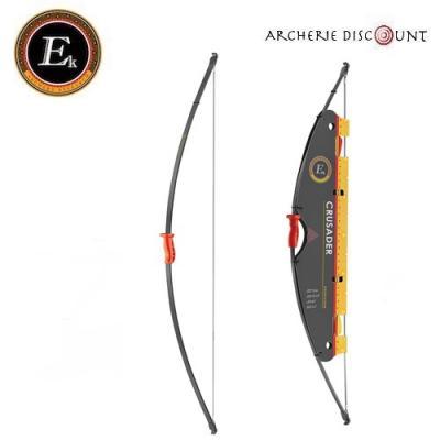 """Arc Crusader 36"""" ambidextre 10 lbs noir Ek Archery"""