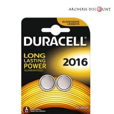 Piles CR2016 3 volts duracell